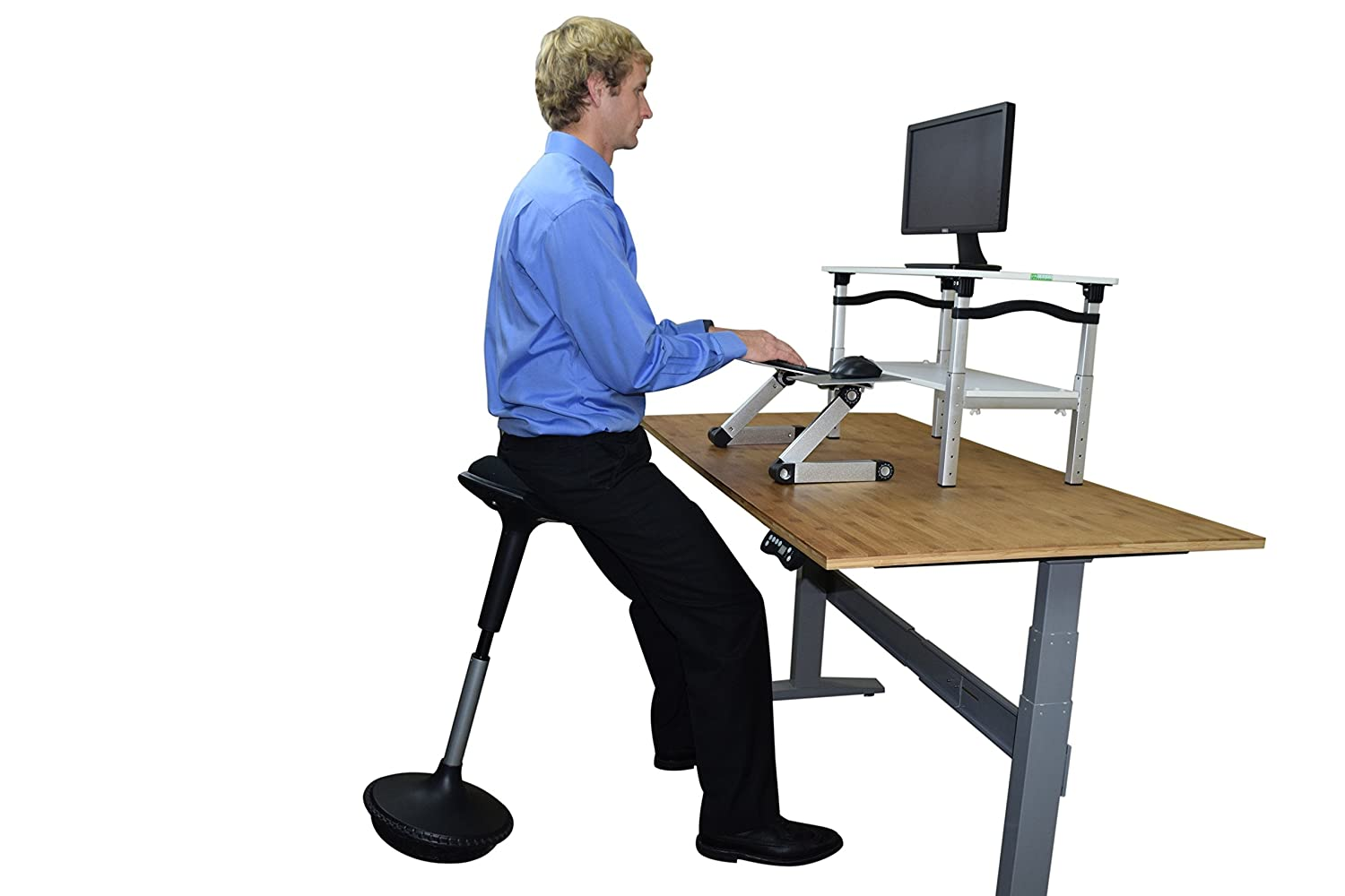 Amazon.com  Uncaged Ergonomics Wobble Stool Adjustable Chair Black  Office Products  sc 1 st  Amazon.com & Amazon.com : Uncaged Ergonomics Wobble Stool Adjustable Chair ... islam-shia.org