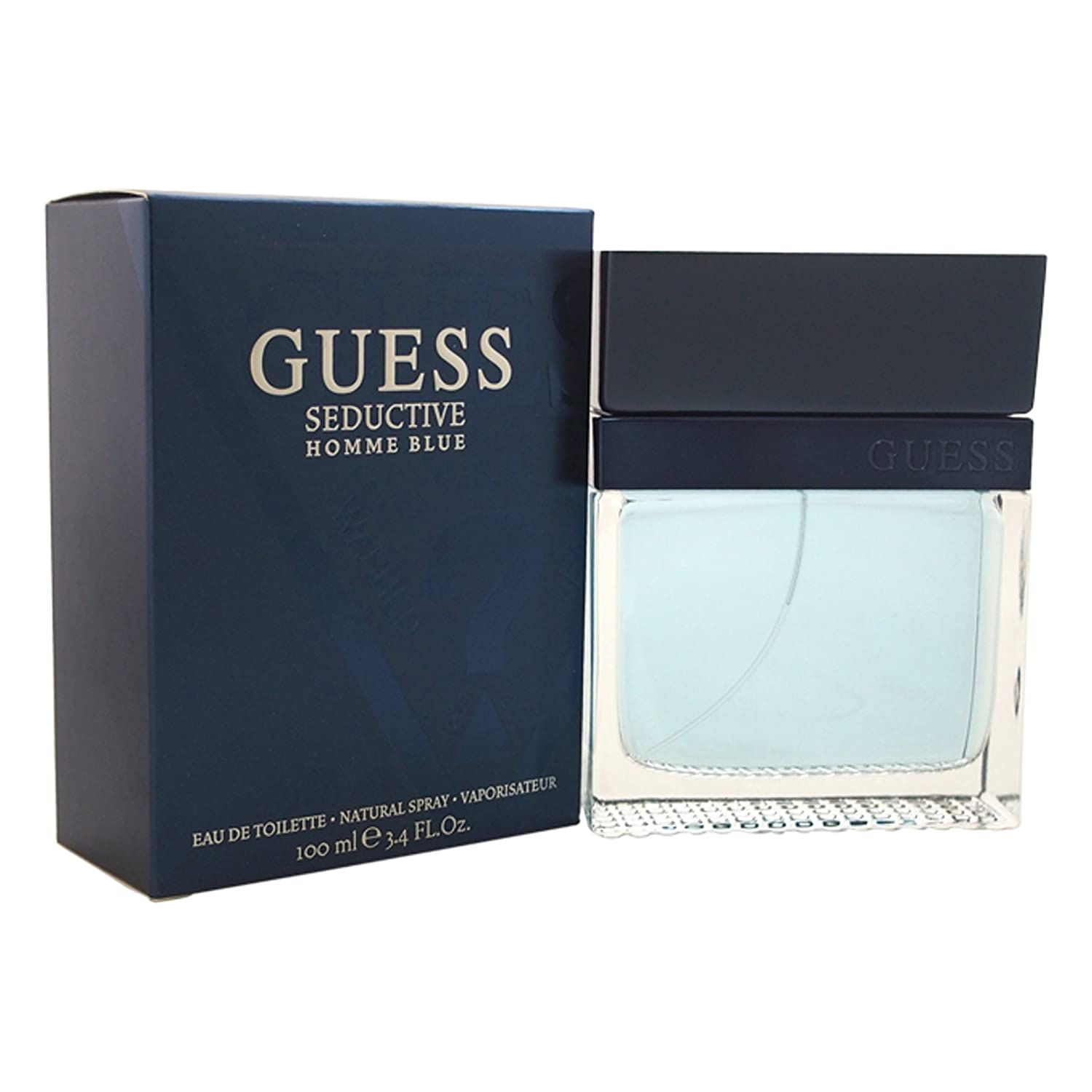 Amazon.com   Guess Seductive Homme Eau De Toilette Spray for Men ... f1ce79ab85