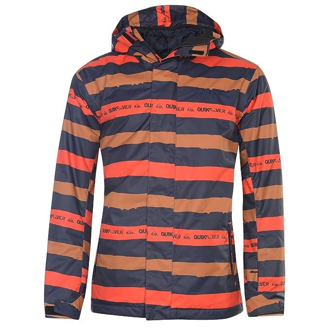 Quiksilver chaqueta impermeable para Bewind capucha de hombre de piel de para esquí para el clasificación de Breatheability: Amazon.es: Ropa y accesorios
