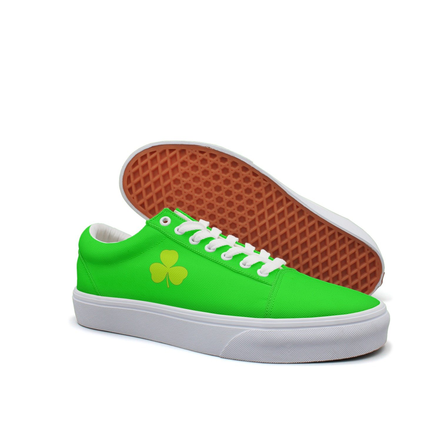 Patricks Day Mens Canvas Low Cut Sneakers Casual Shoes St