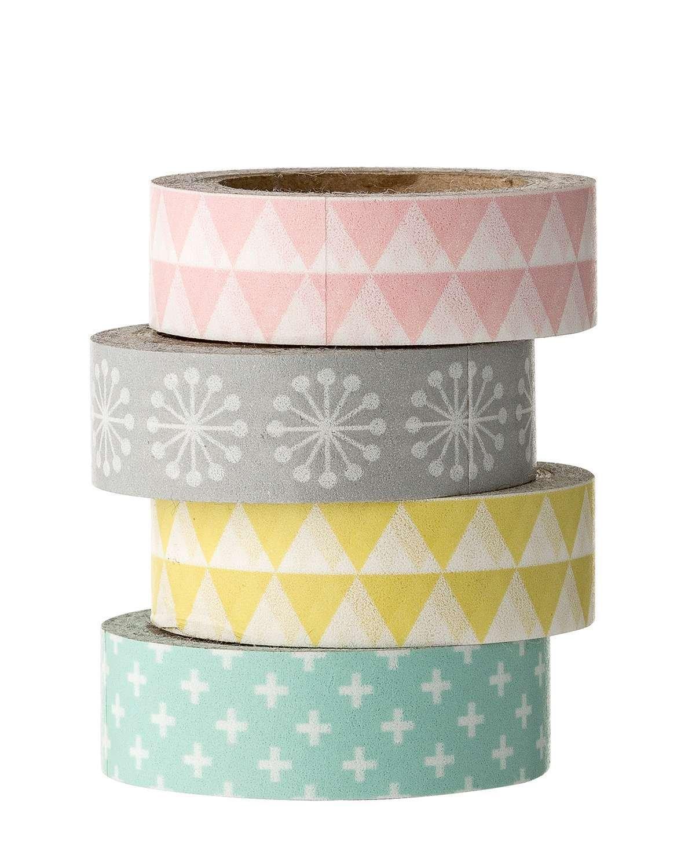 Washi tape aux teintes pastels