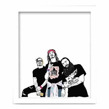 Flatbush Zombies 11x17 Art Poster