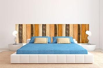 Amazon.de: Oedim Bett Kopfteil Cartboard ökologische Nachahmung Holz ...