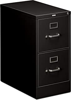 product image for HON Two-Drawer Filing Cabinet- 510 Series Full Suspension Letter File Cabinet, 29 by 15-inch, Black (H512)