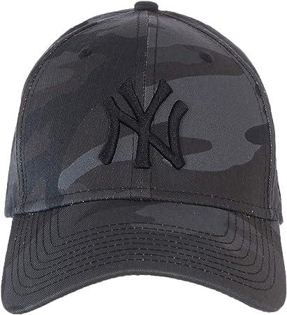 New Era Casquette Camo Essential 940 New-York Yankees Black