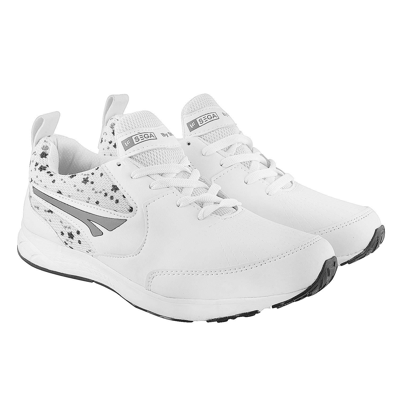 Buy SEGA 28 Men's White Sports, Running