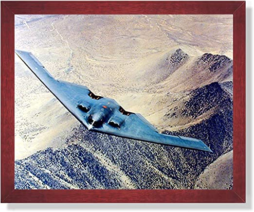 B2 Stealth Bomber Jet Airplane Wall Picture Art Print