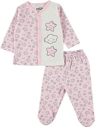 Civilim - Pijama para bebé (100% algodón, 3-6 Meses) Rosa 3 Meses ...