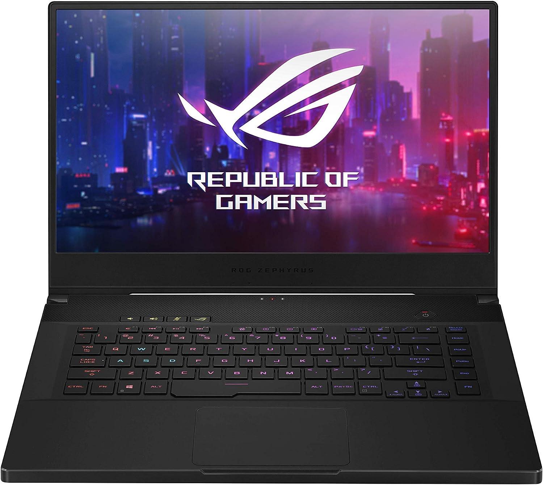 "ASUS ROG Zephyrus (M-GU502GV-AZ038T), Laptop van 15.6"" Full-HD IPS (NIVIDIA Geforce RTX 2060, 16GB RAM, 1TB HDD, 240HZ (3MS), Brushed Black, Windows 10 Home)"