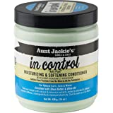 Aunt Jackie's In Control Anti-Poof Moisturizing and Softening Conditioner, Tames, Nourishes and Deep Conditions Dry Hair…