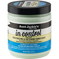"""Aunt Jackie's in control - """"Anti-Poof"""" Moisturizing & Softening Conditioner, 15 Fl Oz"""