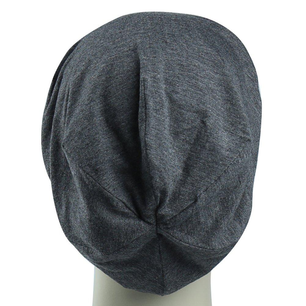 Satin Lined Sleep Cap For Long Hair Girl Casual Slouchy Beanie Wig  Accessories Headwear 4c58371a21ac