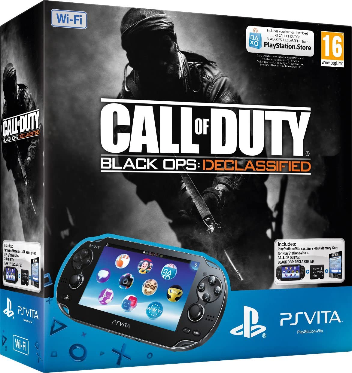 PlayStation Vita Wi-Fi Console with Call of Duty: Black Ops II ...