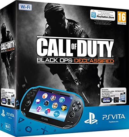 PlayStation Vita Wi-Fi Console with Call of Duty: Black Ops ...