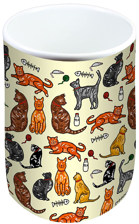 Selina-Jayne Cats Limited Edition Designer Mug and Coaster Gift Set