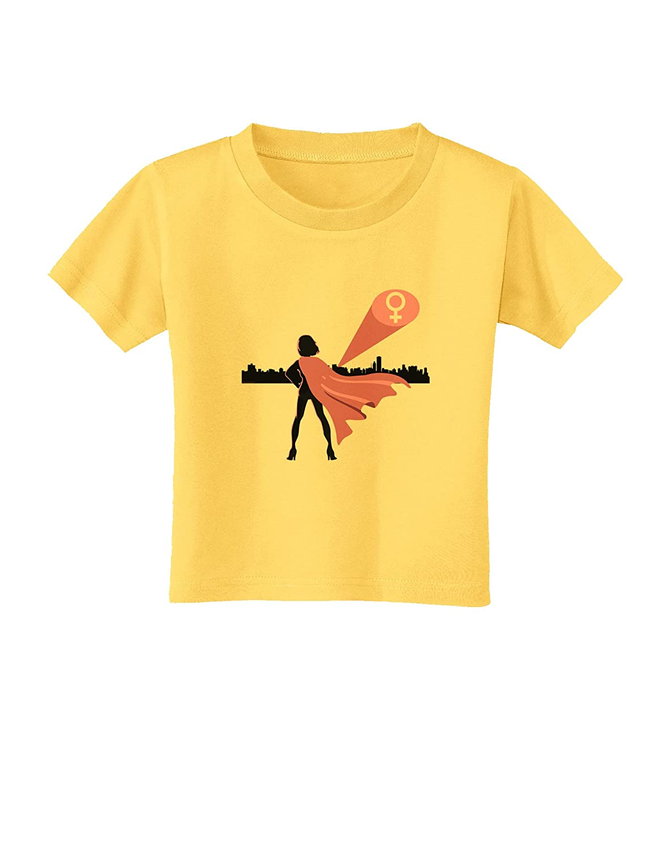 TooLoud Girl Power Womens Empowerment Toddler T-Shirt