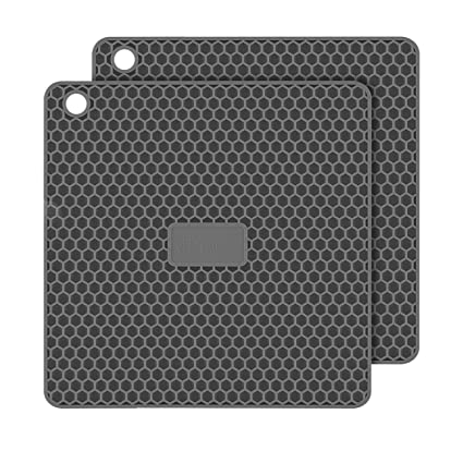 2cd85545c7 Amazon.com  PratiPad Plus 4-in-1 Multipurpose Silicone Pot Holders ...