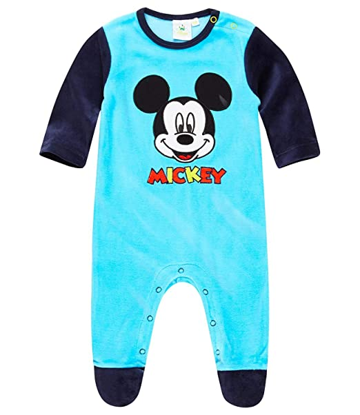 Disney Mickey Babies Pelele - Azul - 24M