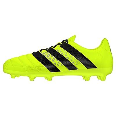 adidas Ace 16.3 FG J Leather, Chaussures de Football Garçon