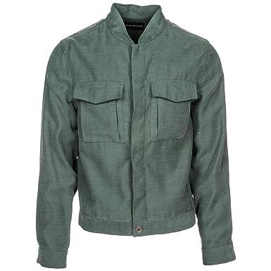 17adad388920 Emporio Armani Veste Homme Verde 50 EU  Amazon.fr  Vêtements et accessoires