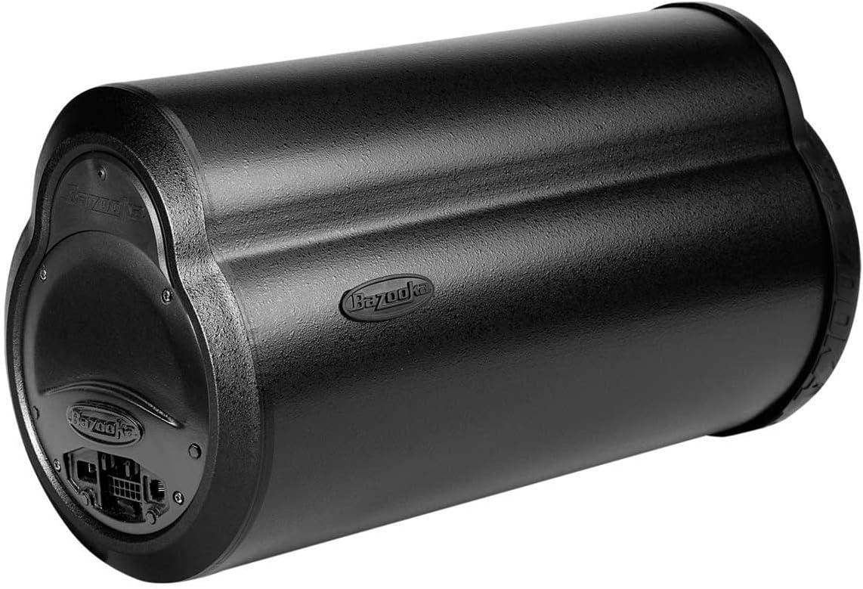 Bazooka BTA8100 BT Series 8-Inch 100-Watt Amplified Bass Tubes /& Free Universal Mounting Bracket