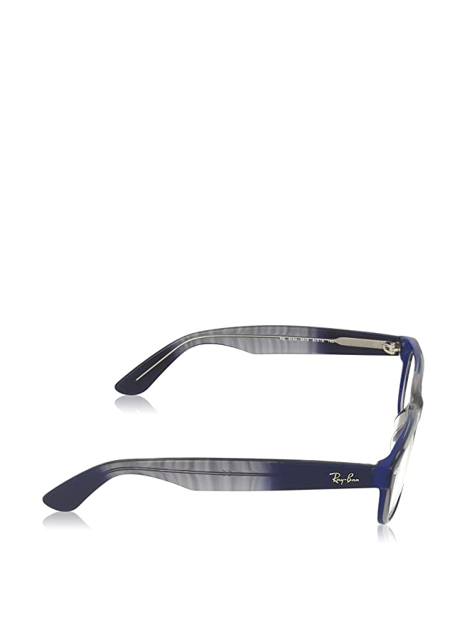 Amazon.com: anteojos Ray Ban 5184 Azul Cuadrado: Clothing