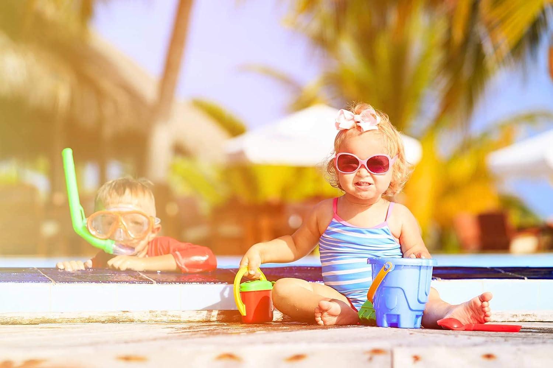 per nuotare al lago o al mare Il giocattolo acquatico /è adatto per il bagno I design possibili del set acquatico sono: B Set di 3 giocattoli acquatici di neoprene riempiti di sabbia ideali per aiutare i bambini a nuotare e a immergersi in acqua