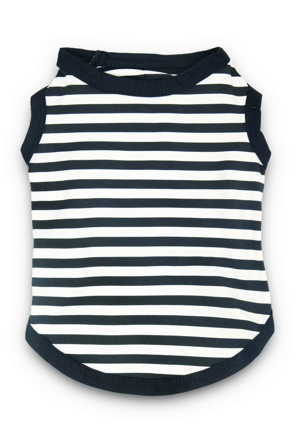 DroolingDog Summer Dog Shirts Pet Striped Dog Clothes for Small Dogs