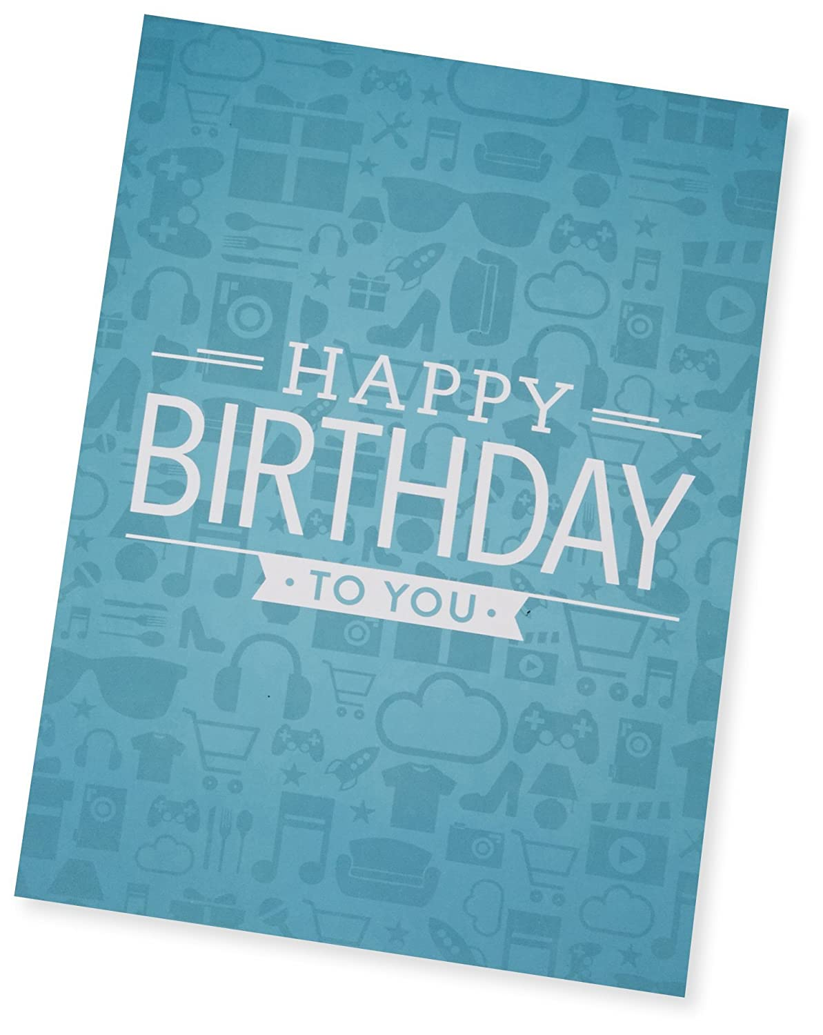 Amazon Amazon 10 Gift Card In A Greeting Card Birthday