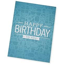 Greeting Card - Birthday Icons link image