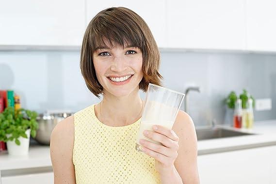Alimento dietético activo LINEAVI | batido de proteína para adelgazar | mezcla de proteínas de soja, guisante, arroz y suero de leche | sin lactosa ni ...