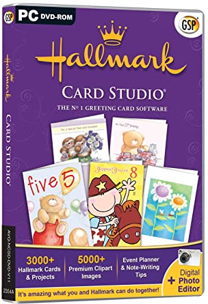 Hallmark card studio pc amazon software hallmark card studio pc m4hsunfo