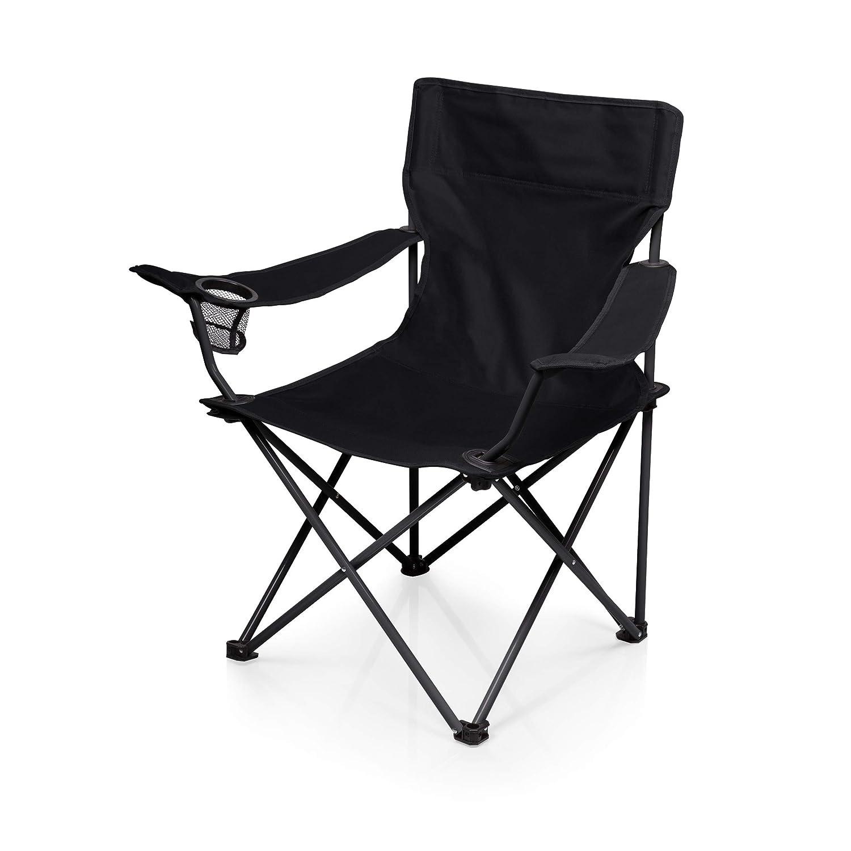 Amazon.com: ONIVA   A Picnic Time Brand PTZ Portable Folding Camp Chair,  Black: Sports U0026 Outdoors