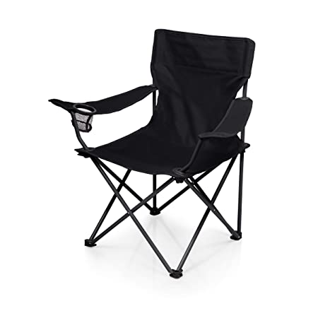 ONIVA – a Picnic Time Brand PTZ Portable Folding Camp Chair, Black