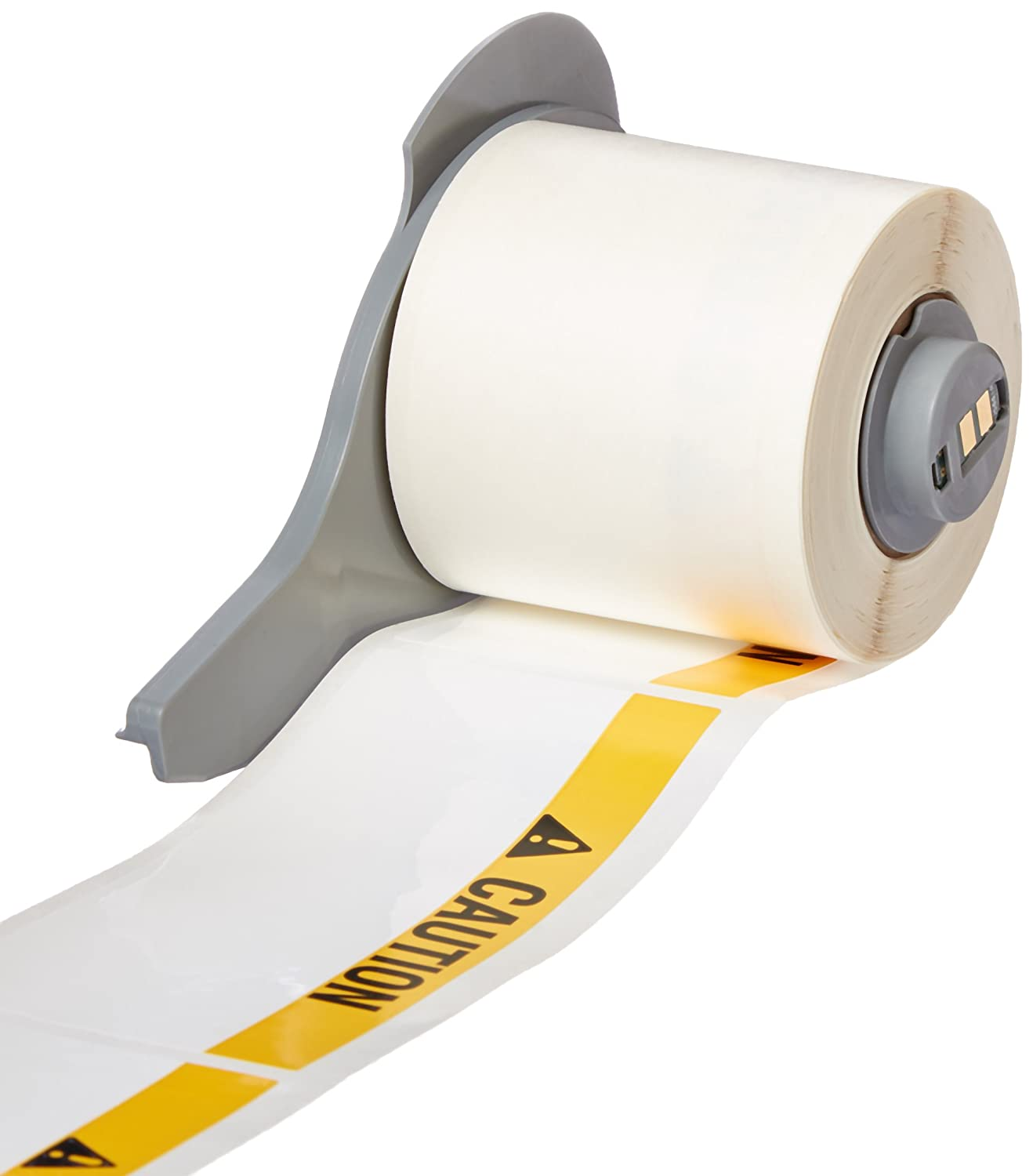 White 100 Labels per Roll, 1 Roll per Package Brady M71-38-483 Ultra Aggressive Polyester BMP71 Labels