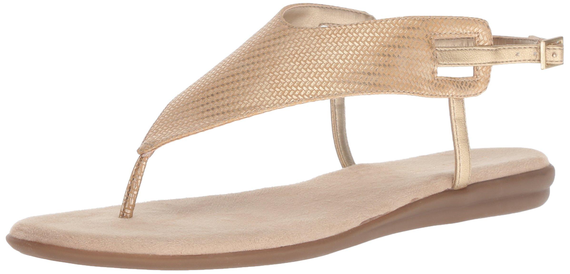 Aerosoles Women's Chlose Friend Sandal, Gold, 8.5 M US
