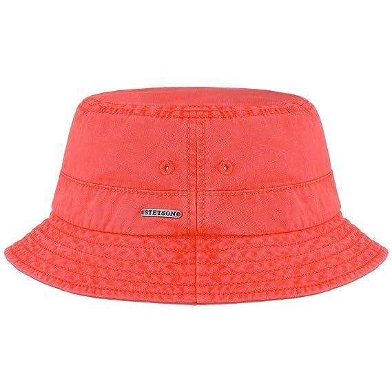 Stetson Cappello da Pescatore Dyed Cotton Cotone Estivo di Tessuto   Amazon.it  Abbigliamento 05f972be382c