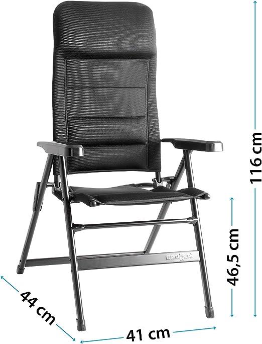 Brunner FRA601277 - Silla de Camping, Color Negro