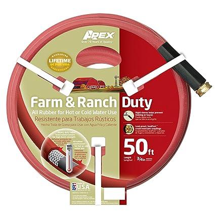 Amazon.com: Apex 969rr-50 Granja y Ranch Manguera de jardín ...