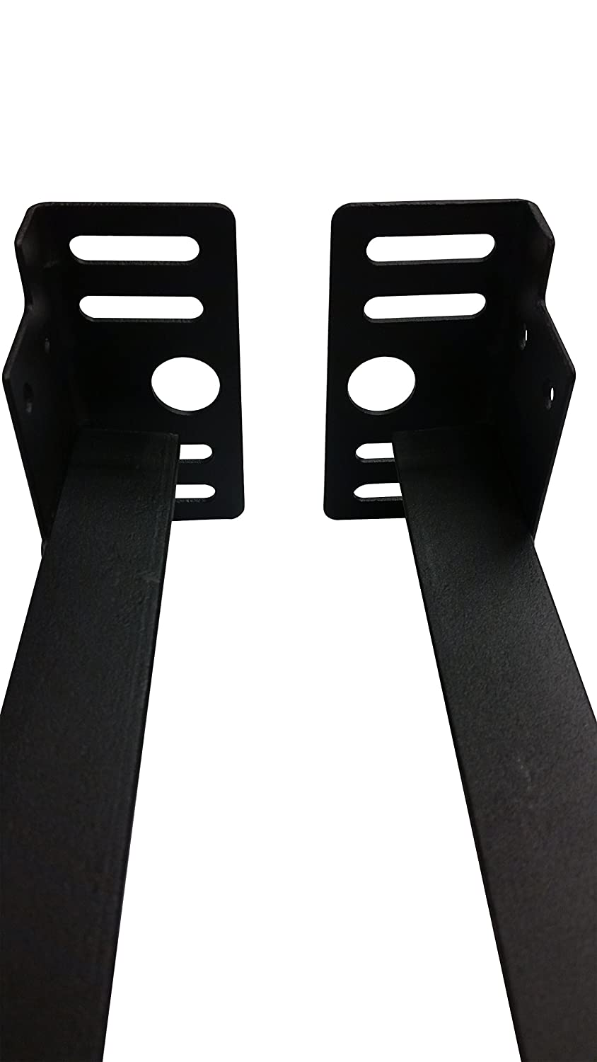 Twin//Full//Queen//King Kings Brand Furniture Bed Frame Footboard Extension Brackets Set Attachment Kit
