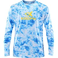 Performance Fishing Shirt Sun Protection Shirt UPF50 Lightweight Outdoor Long Sleeve Dry Fit Athletic Shirts