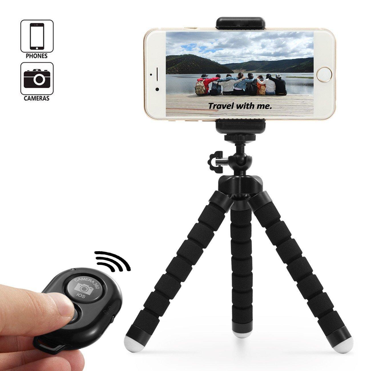Dezuo cm Mini Trípode para Móvil Smartphone Cámara Digital iPhone ipad Incluye
