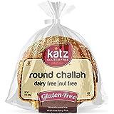 Katz Gluten Free Round Challah | Dairy, Nut and Gluten Free | Kosher (1 Pack of 1 Challah, 8 Ounce)