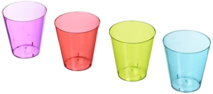 amazon com amscan cinco de mayo fiesta party assorted colors shot