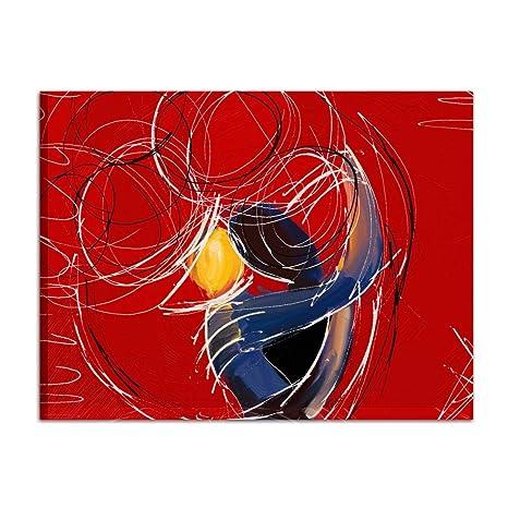 I Colori Del Caribe Quadri Dipinti A Mano Abbraccio Stilizzato