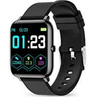 Smart Watch, KALINCO Fitness Tracker with Heart Rate Monitor, Blood Pressure, Blood Oxygen Tracking, 1.4 Inch Touch…