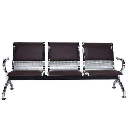Amazon.com: WALCUT recepción aeropuerto banco silla de sala ...