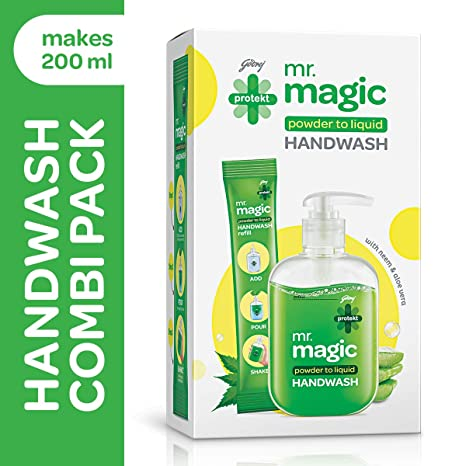 Godrej Protekt Mr magic handwash 9g combi