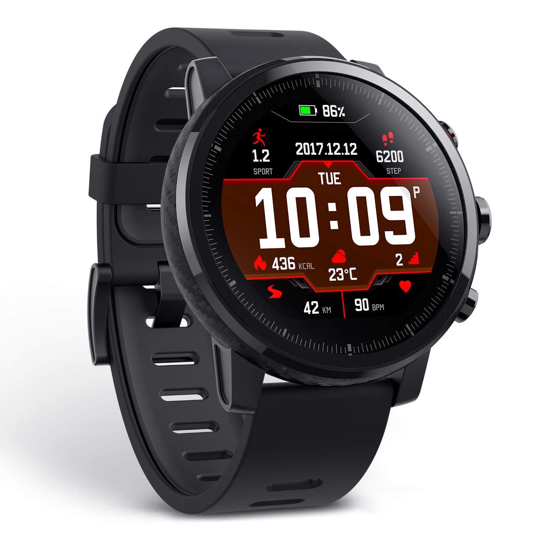 Amazfit Stratos A1619 Multisport Smartwatch (Black): Amazon.in