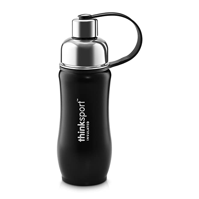Amazon.com: Thinksport botella de agua de, acero inoxidable ...